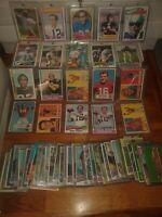 Vintage Football Card Repacks, 50s, 60s, 70s Staubach, Simpson, HOF Rookies
