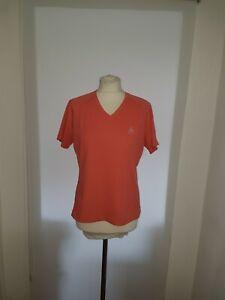 Odlo Sportshirt T-Shirt Funktionsshirt Gr. M Hummer Mesh V-Ausschnitt Logo Sport