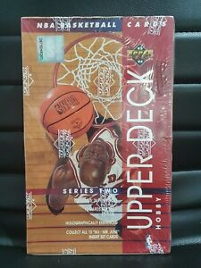 🏀 93/94 Upper Deck Series 2 Factory Sealed Hobby Box 36 Packs NBA Cards Jordan