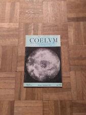 Coelum - Horn D'Arturo - Rivista Di Astronomia - Luglio / Agosto 1971