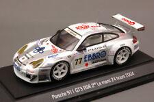 Porsche 996 Gt3 RSR le Mans 2004 N°77 1/43 EBBRO 600