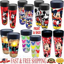 Brand New Disney Travel Mugs Mickey Minnie Donald Goofy Pluto Mugs Water Bottle