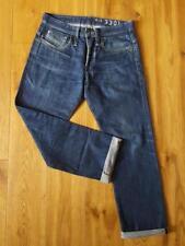 """VICTOR STRAIGHT 3301 G Star Raw Men's Dark Blue Jeans Waist 32"""" Leg 30"""""""