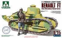 Takom 1/16 1002 French Light Tank Renault FT