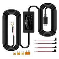 Vantrue Dash Cam Hardwire Kit - 12V to 5V Mini USB + Fuse Taps (Latest Version)