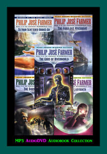 The RIVERWORLD Series By Philip Jose Farmer (5 MP3 Audiobook Collection)