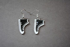"Beautiful, Unique, Handmade Hanging Earring ""Sneaker"" with 925 Silver Fish Hook"