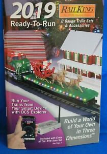 MTH Electric 2019 Ready-To-Run Catalog for RAILKING O Gauge Train Sets & Acces.