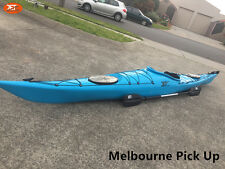 Jetocean Single Sit-in Turing Kayak 502cm with Paddle and Rudder Blue