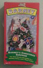 BARNEY'S CHRISTMAS SURPRISE     VHS VIDEOTAPE NEW  corner scuffs