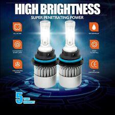 New 9004 HB1 LED Headlight 3-Sided Bulbs High&Low Beam 1915W 287250LM 6000K 2Pcs