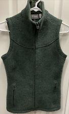 Euc Ibex Women's Nicki Loden Vest Xs Green