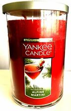 Yankee Candle Large Jar  * ALPINE MARTINI  * 150 HOURS