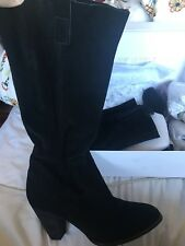 City chic By Wittner Leather Slouch Boots Size 40