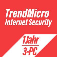 Trend Micro Titanium Internet Security 2019 VOLLVERSION DEUTSCH - 3PC für 1 Jahr