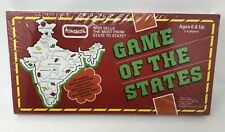 Rare Vtg Game Of The States India Edition Board Game Funskool *Sealed w Box Wear
