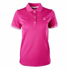 Legacy Equestrian Ladies Polo Shirt - Raspberry