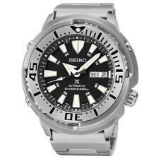 Seiko Black Monster Baby Tuna Prospex Men's Stainless Steel Watch SRP637K1