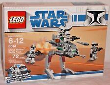 SEALED 8014 LEGO Disney Star Wars CLONE WALKER BATTLE PACK Army Builder Trooper