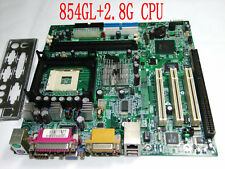 845GL ISA Motherboard + P4 2.8G CPU+Driver CD UPS/DHL 3-7Day