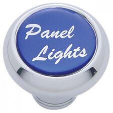 deluxe knob panel lights blue glossy sticker for Freightliner Kenworth Peterbilt