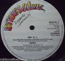 """WISH - Mr DJ - 12"""" Single"""