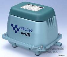 HIBLOW HP-80 AIR PUMP NEW SEPTIC, POND, AERATOR, AQUAPONICS, W/ WARRANTY