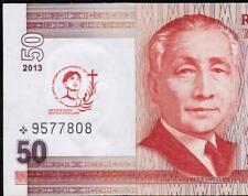 2013 PHILIPPINES 50 peso Saint Pedro Calungsod Commemorative STAR Note, UNC