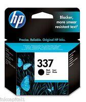 HP N 337 NERO ORIGINALE OEM CARTUCCIA A GETTO di inchiostro C9364EE PER