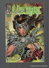 Witchblade 2 Image Comic 1995 NM Signed 2 times Michael Turner, & D-Tron! Nice!