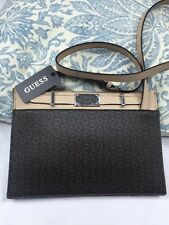 """Guess rossbody Shoulder Bag 10""""X7"""" Brown 100% Authentic NEW$125"""