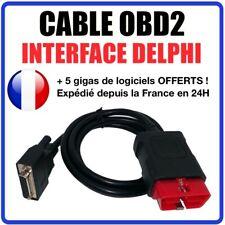 Câble OBD2 de remplacement compatible avec interface Delphi DS150 DS100