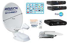 Antarion Kit Antenne satellite 72 cm G6+ CONNECT TWIN FRANSAT