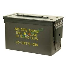 Box Scatola Cassetta Munizioni Militare NATO in Metallo ORIGINALE mod Tipo 2