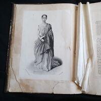 Galerie des artistes dramatiques, Tome 1. 40 portraits par AL LACAUCHIE. 1841