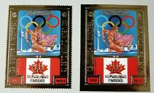 Kambodscha Khmere 1975 Olympiade Montreal Herkules Flagge 418 A B Postfrisch MNH