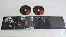 RARE 2 CD ALBUM DIGIPACK LEO FERRE SUR LA SCENE  31 TITRES 2001