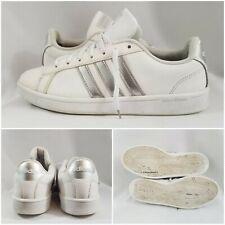 Adidas Cloudfoam Advantage ( AQ0528) Casual White Leather Shoes Men's Size 9.5