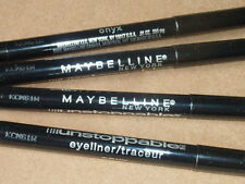 LOT OF 4 Maybelline Unstoppable Eyeliner Onyx NEW bulk packaged