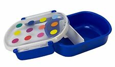 Boston Warehouse Divided Lunch Box, Small Colorful Dots