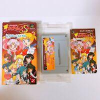Sailor Moon S Jogai Ranto Nintendo Super Famicom SFC SNES Japan game