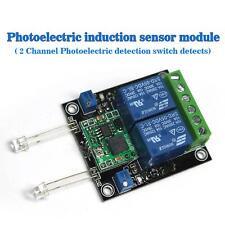 Dual Sensor Module Photoelectric Light Sensor Detection Switch 9-24V