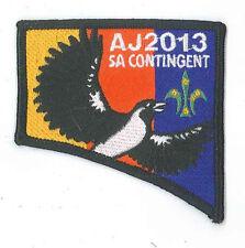 AJ2013 - AUSTRALIA SCOUT JAMBOREE - SOUTH AUSTRALIA SA SCOUTS CONTINGENT BADGE