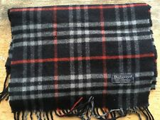 BURBERRYS OF LONDON  MENS OR WOMENS SCARF CLASSIC VINTAGE BLUE CHECK