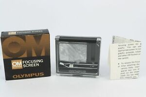 Olympus OM Focusing Screen 1-6  Microprism-clear field type - Professionally ...
