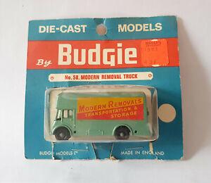 Budgie Toys # 58 Modern Removals Van MIB