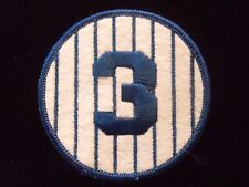 Babe Ruth #3 Retired Number Yankees Jersey Patch