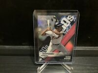 2020 Topps Chrome HANK AARON Braves Decade of Dominance Die-Cut Refractor #DOD-4