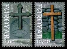 Faroe Islands 2008 Religion, Ancient Christian Crosses, Unm / Mnh