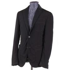 NWT $1295 BOGLIOLI Dark Green Tech Fabric Puffer Blazer S (Eu 48) Jacket